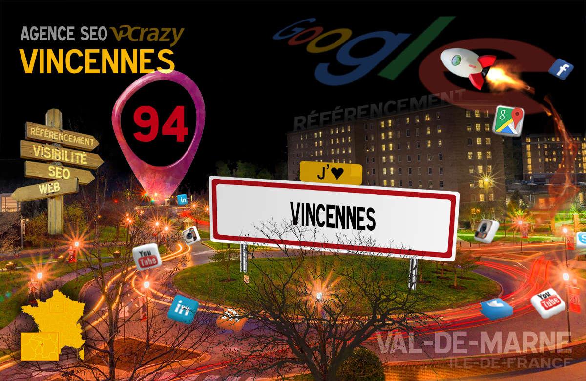 Référencement Internet Vincennes